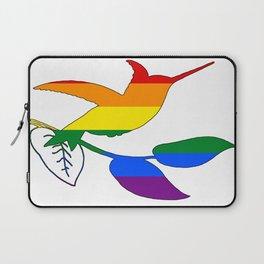 Rainbow Hummingbird Laptop Sleeve