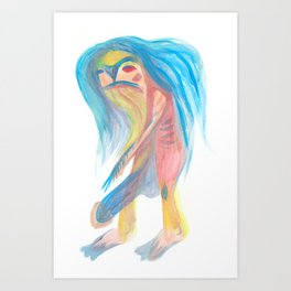 Dickman Art Print