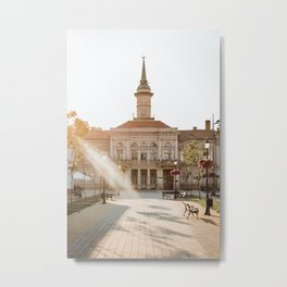 City hall in Becej, Serbia Metal Print