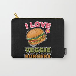 Veggie Burgers Carry-All Pouch