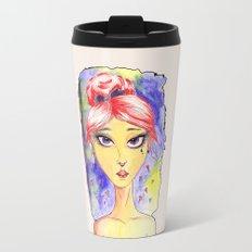 Isabella Watercolor Travel Mug