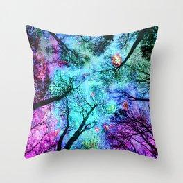 fantasy sky Throw Pillow