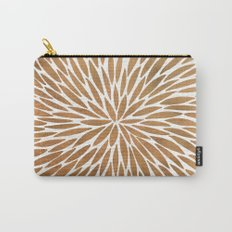 Rose Gold Burst Carry-All Pouch