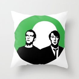 El Dude Brothers Throw Pillow