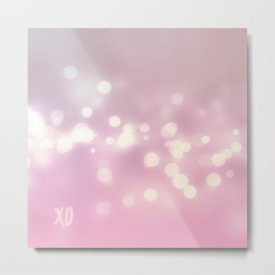 XO Metal Print