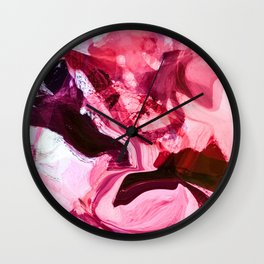 the red touch Wall Clock