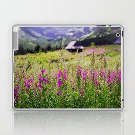 Fireweed In The Mountains Laptop & iPad Skin