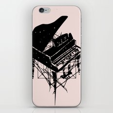 Piano in pink iPhone Skin