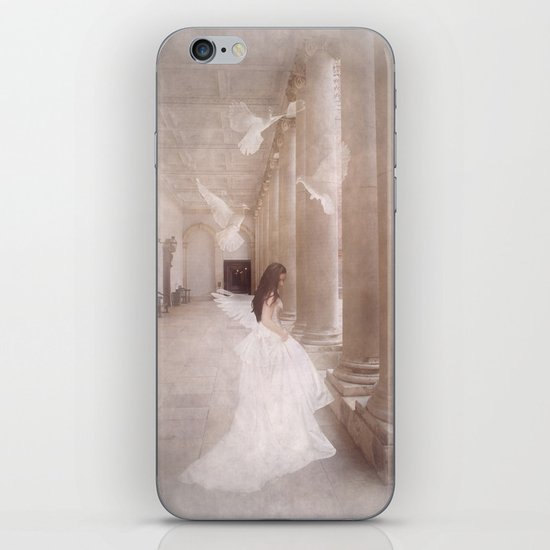 Her Dreams Gave Her Wings iPhone & iPod Skin
