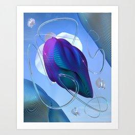 Chrysalis 1.5 Art Print