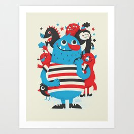 Something to Talk About Art Print