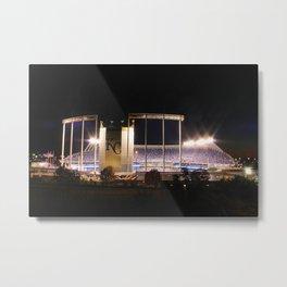 Kauffman Stadium, Kansas City Metal Print