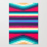 surf Canvas Prints featuring SURF by Nika