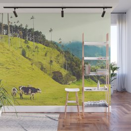 Beautiful Bucolic Countryside in Colombia Fine Art Print Wall Mural