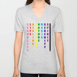 The Meaning of Pride Unisex V-Neck