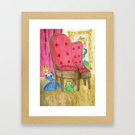 Princess and the Frog Framed Art Print