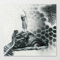 revolution Canvas Prints featuring revolution by Ubik Designs