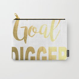 Goal Digger Gold Foil Carry-All Pouch