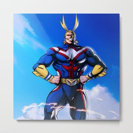All Might! Metal Print