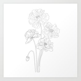 bunches of boos Art Print