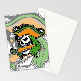 Pirate + Carrot = PAROT Stationery Cards
