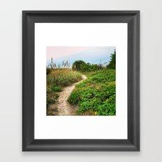 Path to the Sky Framed Art Print