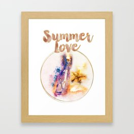 Summerlove Framed Art Print