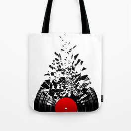 Vinyl shatter Tote Bag