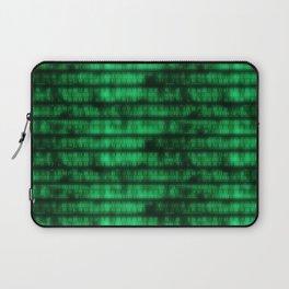 Green Dna Data Code Laptop Sleeve