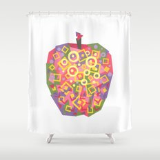 Apple (Pomme) Shower Curtain