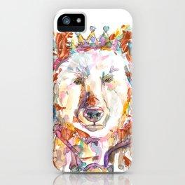Princess Bear iPhone Case