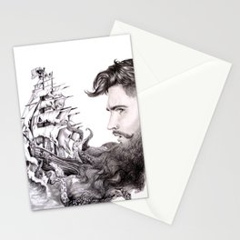 Sailor's Beard Stationery Cards