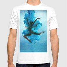 Art of Belly Dance Mens Fitted Tee White SMALL