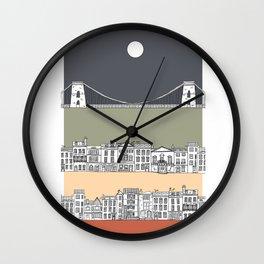 CLIFTON MOON Wall Clock