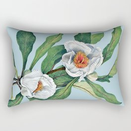 Franklin tree flowers Rectangular Pillow