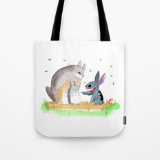 Ohana Means Family Tote Bag