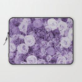 bouquet ver.purple Laptop Sleeve