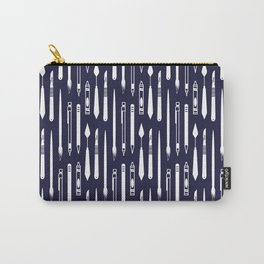 Create (dark blue version) Carry-All Pouch