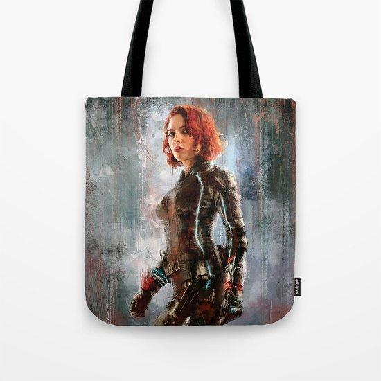 Black Widow Tote Bag