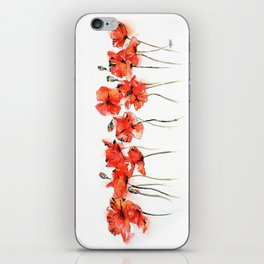 Remember me _ Poppies iPhone Skin