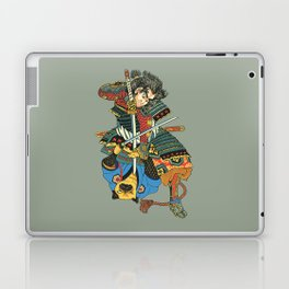 Samurai and Pug Laptop & iPad Skin