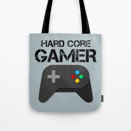Game Console Black Joystick Tote Bag