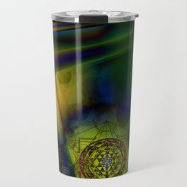 Metawave by Kenny Rego Travel Mug