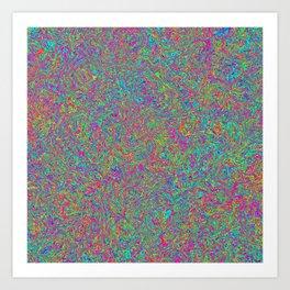 Color Medley Art Print