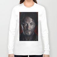 daryl Long Sleeve T-shirts featuring Daryl by Voss fineart