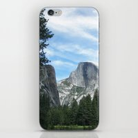 yosemite iPhone & iPod Skins featuring Yosemite by Angela McCall
