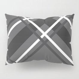 Jumbo Scale Men's Plaid Pattern Pillow Sham