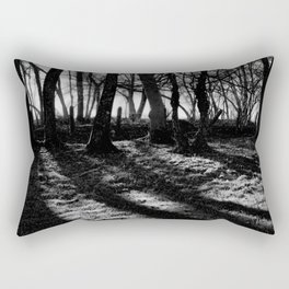 If You Go Down to the Woods Today... Rectangular Pillow