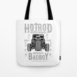 Hod Rod Twisted Maniac America's Bad Boy Tote Bag
