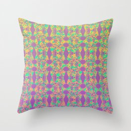 Cutout Manipulation Version III Throw Pillow